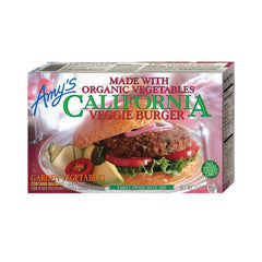 Amy's Kitchen California Veggie Burger, 10 Oz (Pack of 12)