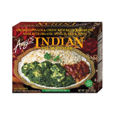 Amy's Kitchen Indian Palak Paneer, 10 Oz (Pack of 12)