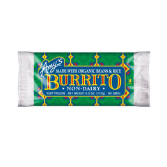 Amy's Kitchen Bean & Rice Burrito - Non-Dairy, 6 Oz (Pack of 12)