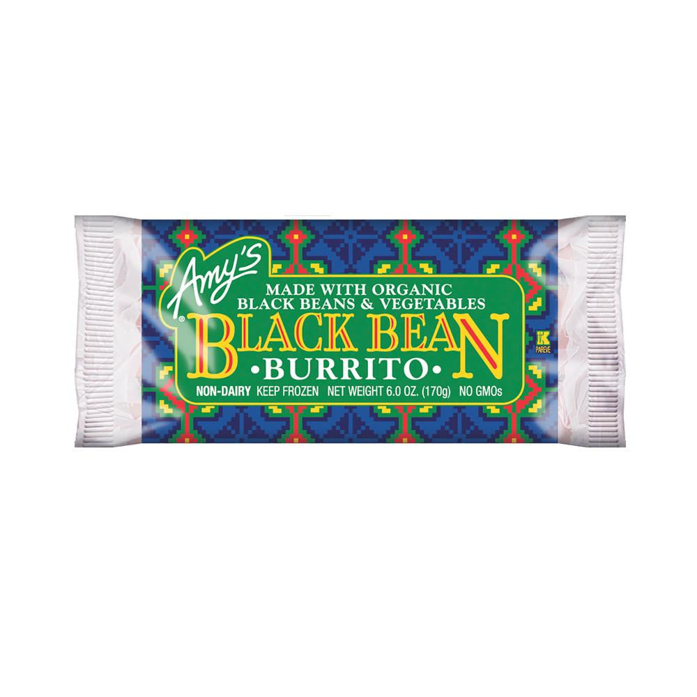 Amy's Kitchen Black Bean Vegetable Burrito, 6 Oz (Pack of 12)