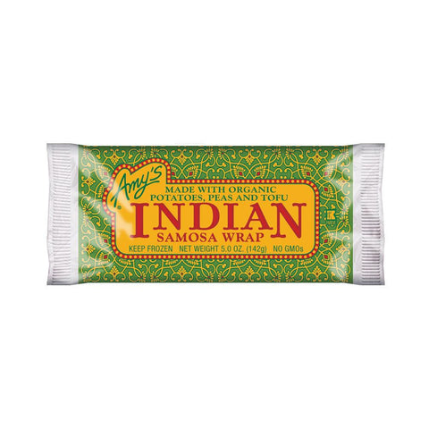 Amy's Kitchen Indian Samosa Wrap, 5 Oz (Pack of 12)