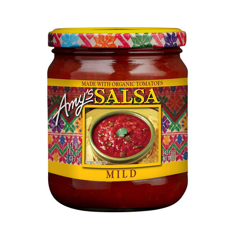 Amy's Kitchen Mild Salsa, 14.7 Oz (Pack of 6)