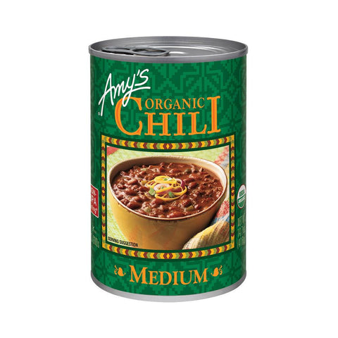 Amy's Kitchen Organic Medium Chili, 14.7 Oz (Pack of 12)