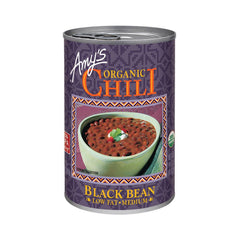 Amy's Kitchen Organic Black Bean Chili, 14.7 Oz (Pack of 12)