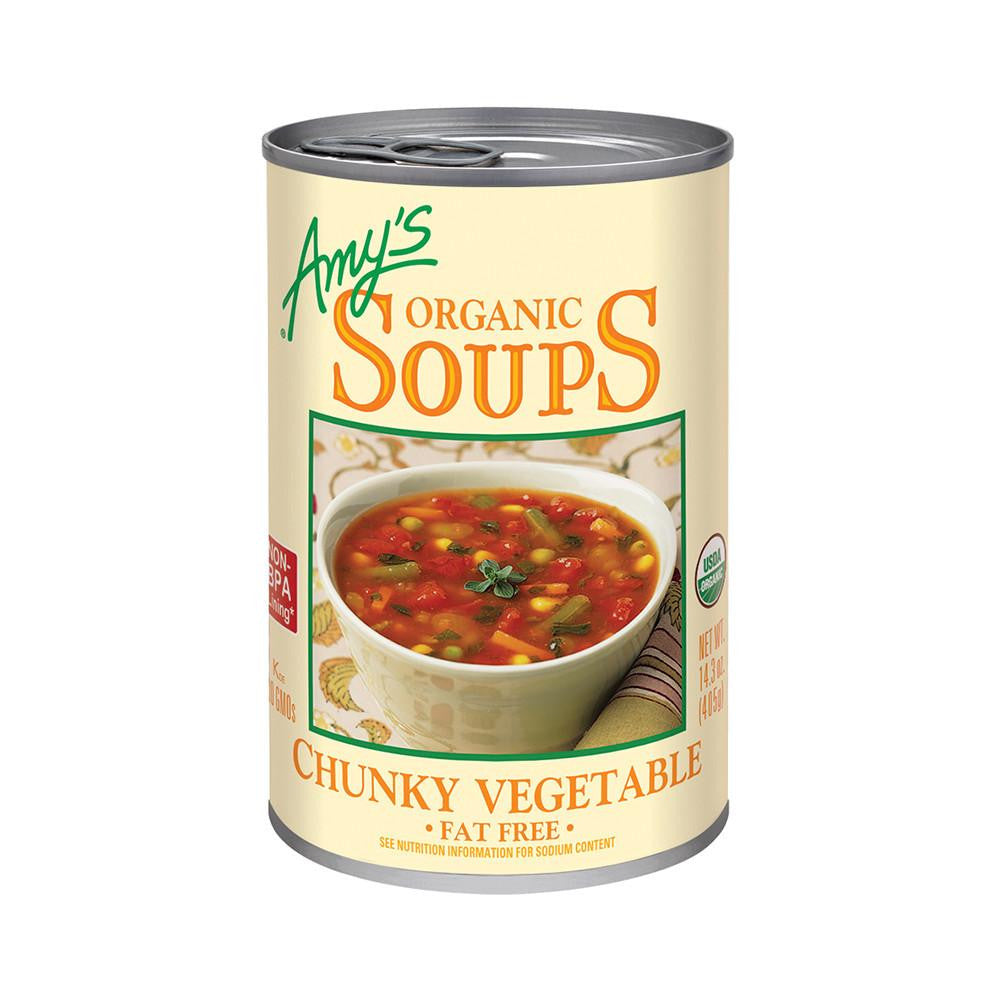 Stupendous Amys Kitchen Organic Chunky Vegetable Soup 14 3 Oz Pack Of 12 Download Free Architecture Designs Ponolprimenicaraguapropertycom