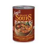 Amy's Kitchen Organic Fire Roasted Southwestern Vegetable Soup, 14.3 Oz (Pack of 12)