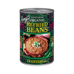 Amy's Kitchen Organic Traditional Refried Beans, 15.4 Oz (Pack of 12)