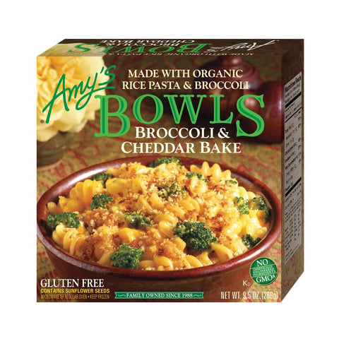 Amy's Kitchen Broccoli & Cheddar Bake, 9.5 Oz (Pack of 12)