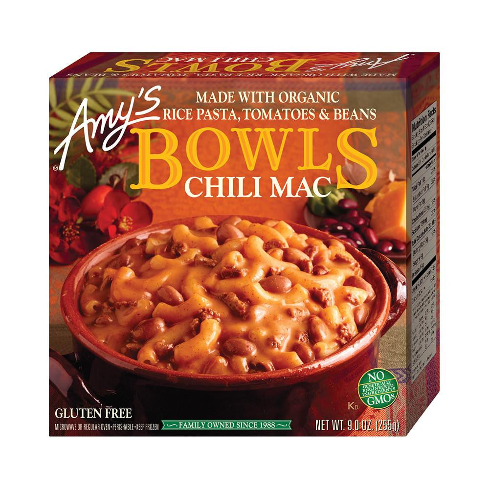 Amy's Kitchen Chili Mac, 9 Oz (Pack of 12)
