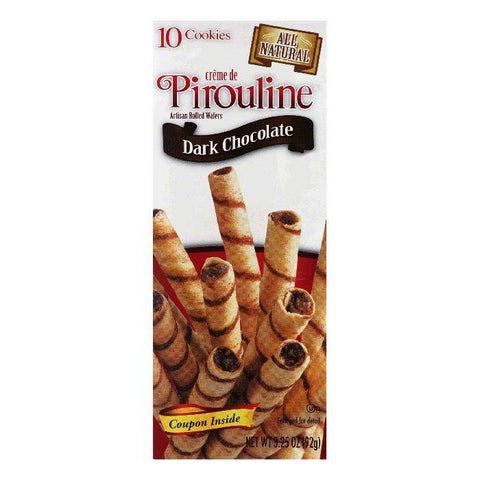 Debeukelaer Dark Chocolate Pirouline, 3.25 OZ (Pack of 12)