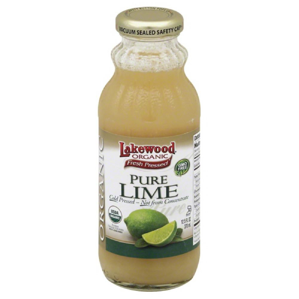 Lakewood Organic Pure Lime, 12.5 Fo (Pack of 12)