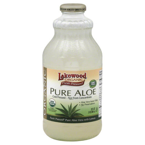Lakewood Pure Aloe, 32 Fo (Pack of 6)