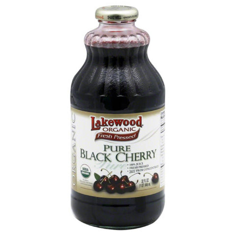 Lakewood Pure Black Cherry Juice, 32 Fo (Pack of 6)