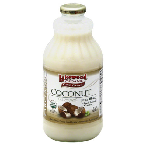 Lakewood Coconut Juice Blend, 32 Fo (Pack of 6)