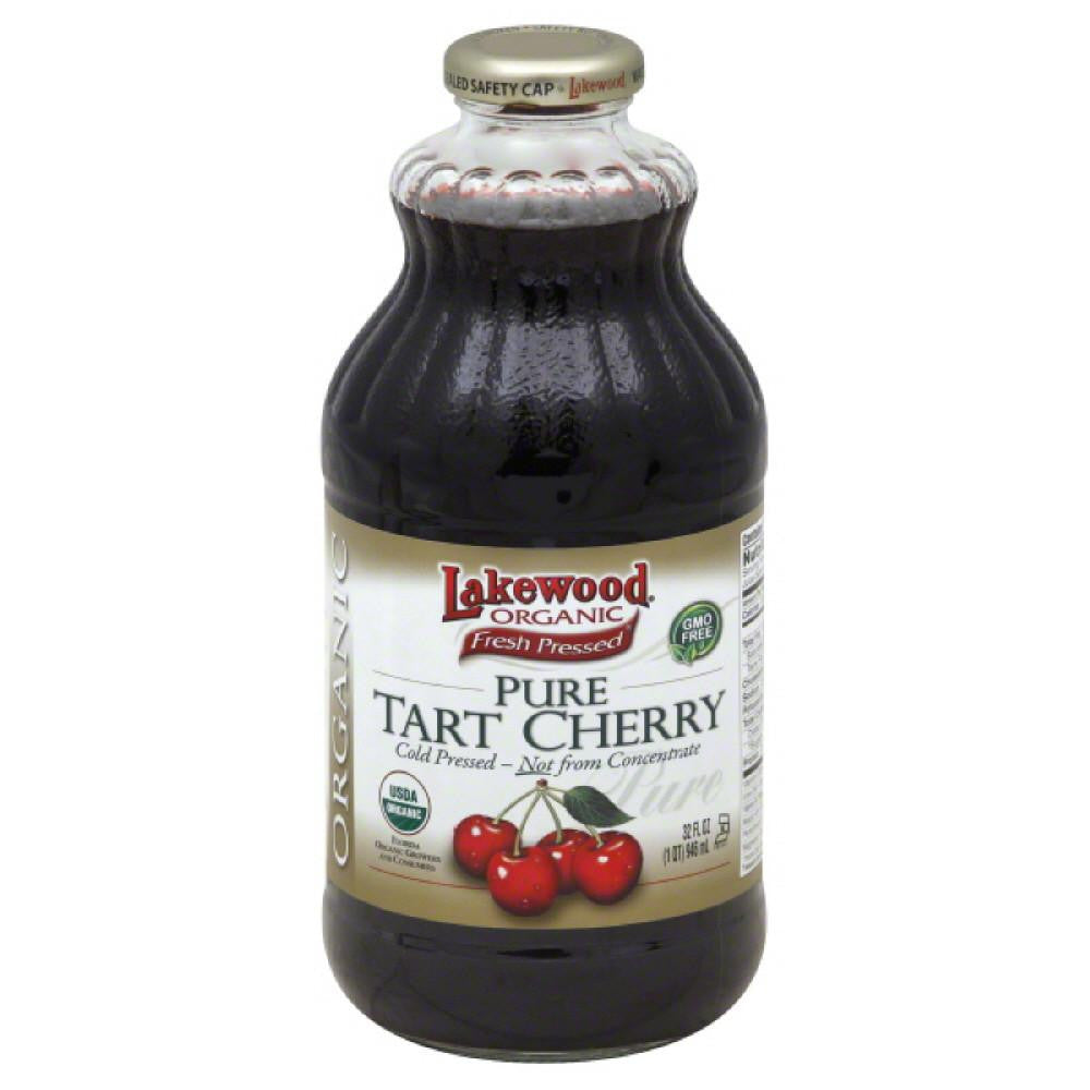 Lakewood Pure Tart Cherry 100% Juice, 32 Fo (Pack of 6)