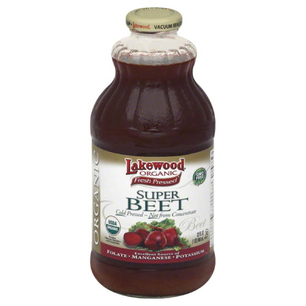 Lakewood Organic Super Beet, 32 Fo (Pack of 6)