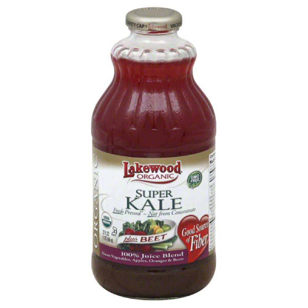 Lakewood Plus Beet Super Kale 100% Juice Blend, 32 Fo (Pack of 6)