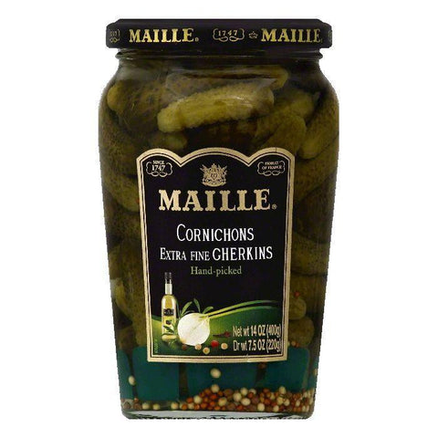 Maille Cornichons, 14 OZ (Pack of 12)
