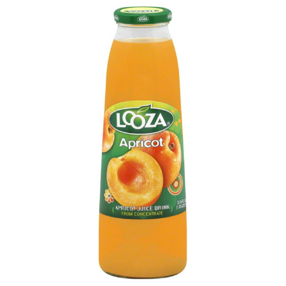 Looza Apricot Juice Drink, 33.8 Oz (Pack of 6)