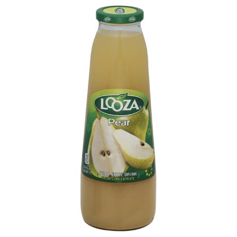 Looza Pear Juice Drink, 33.8 Oz (Pack of 6)