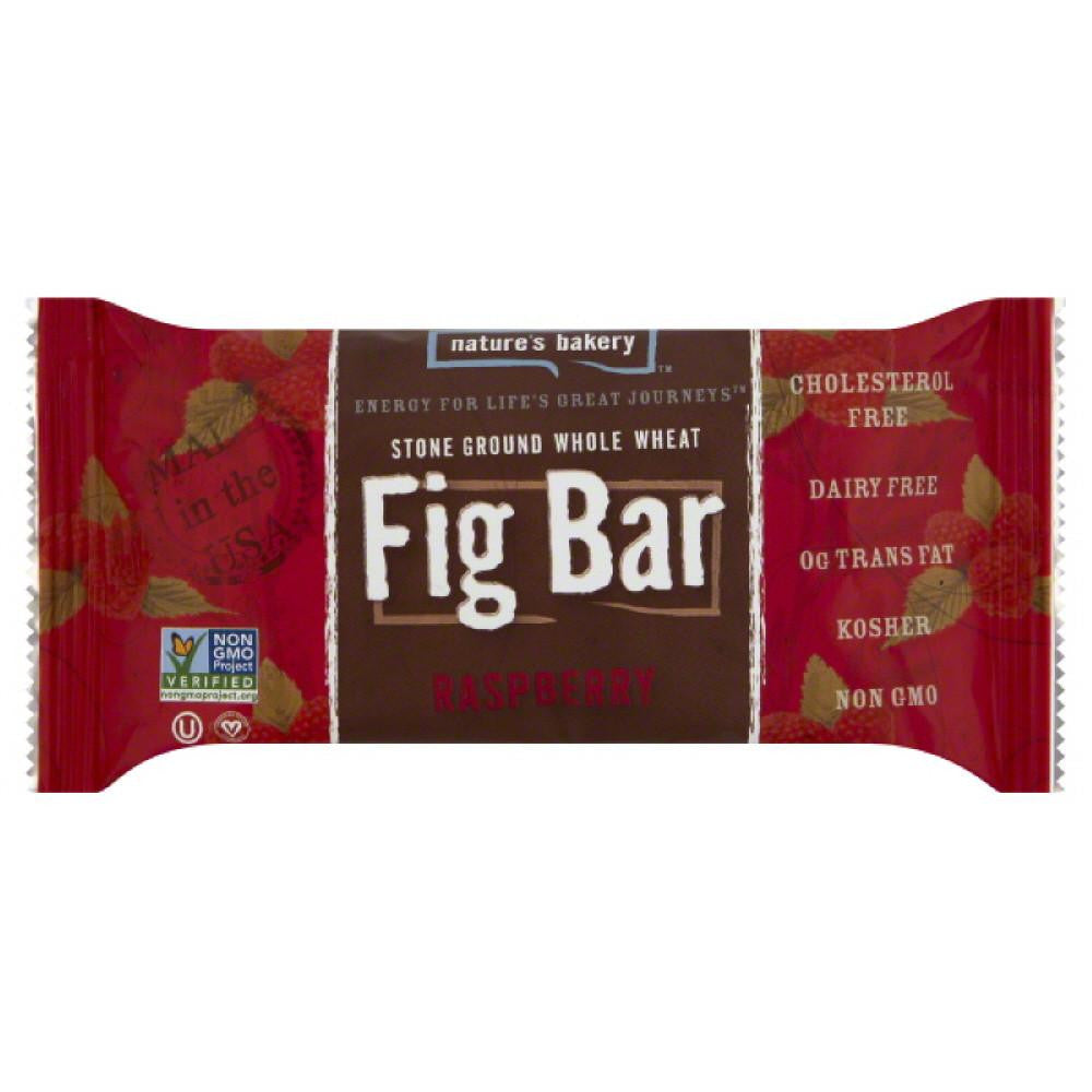 Natures Bakery Raspberry Fig Bar Twin Pack, 2 Oz (Pack of 12)