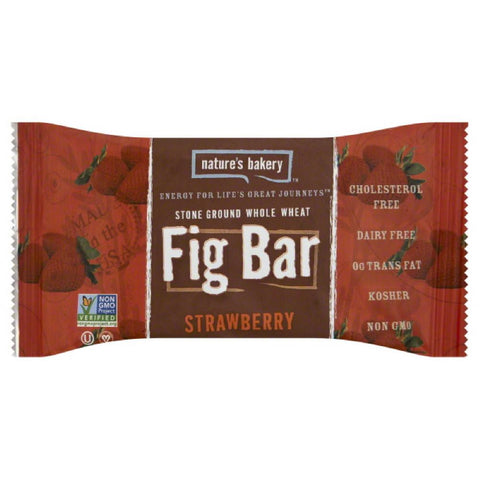 Natures Bakery Strawberry Fig Bar Twin Pack, 2 Oz (Pack of 12)