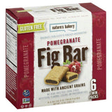 Natures Bakery Pomegranate Fig Bar, 12 Oz (Pack of 6)