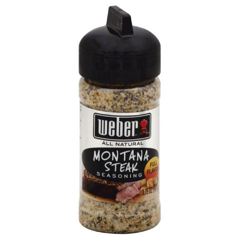 Weber Montana Steak Seasoning, 3.75 Oz (Pack of 6)