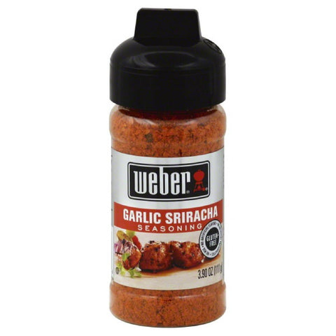 Weber Garlic Sriracha Seasoning, 3.9 Oz (Pack of 6)