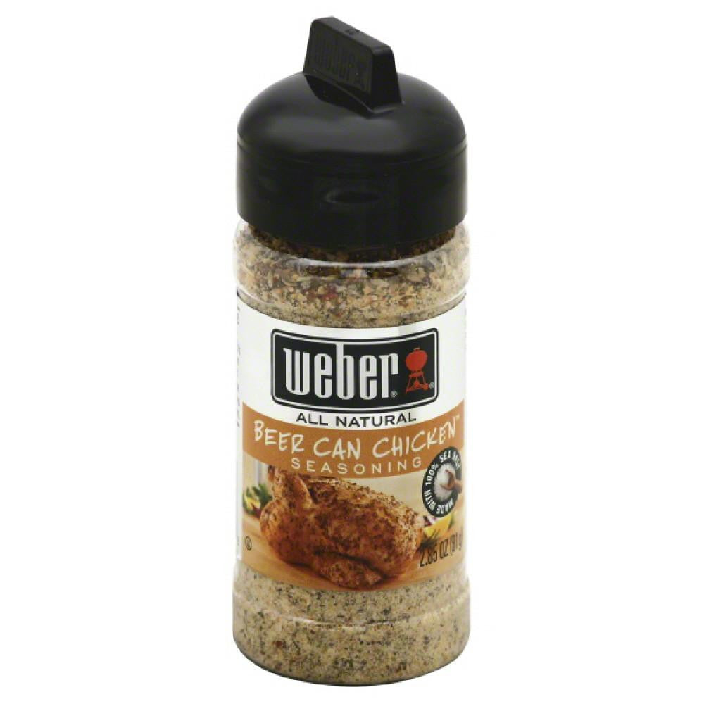 Weber Beer Can Chicken Seasoning, 2.85 Oz (Pack of 6)
