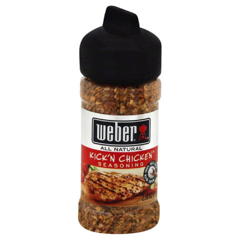 Weber Kick'n Chicken Seasoning, 2.5 Oz (Pack of 6)