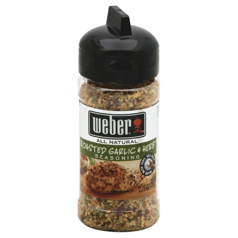 Weber Roasted Garlic & Herb Seasoning, 2.75 Oz (Pack of 6)