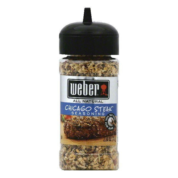 Weber Chicago Steak Seasoning, 2.5 OZ (Pack of 6)