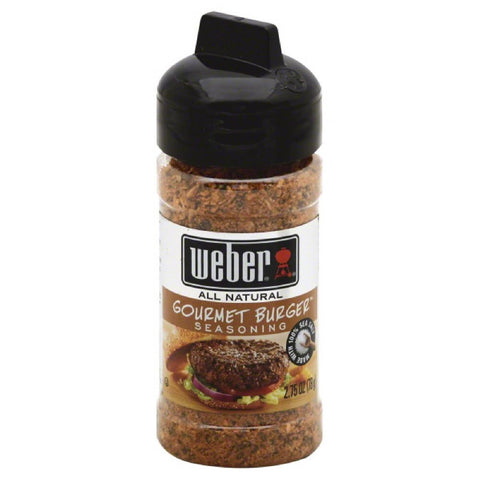 Weber Gourmet Burger Seasoning, 2.75 Oz (Pack of 6)