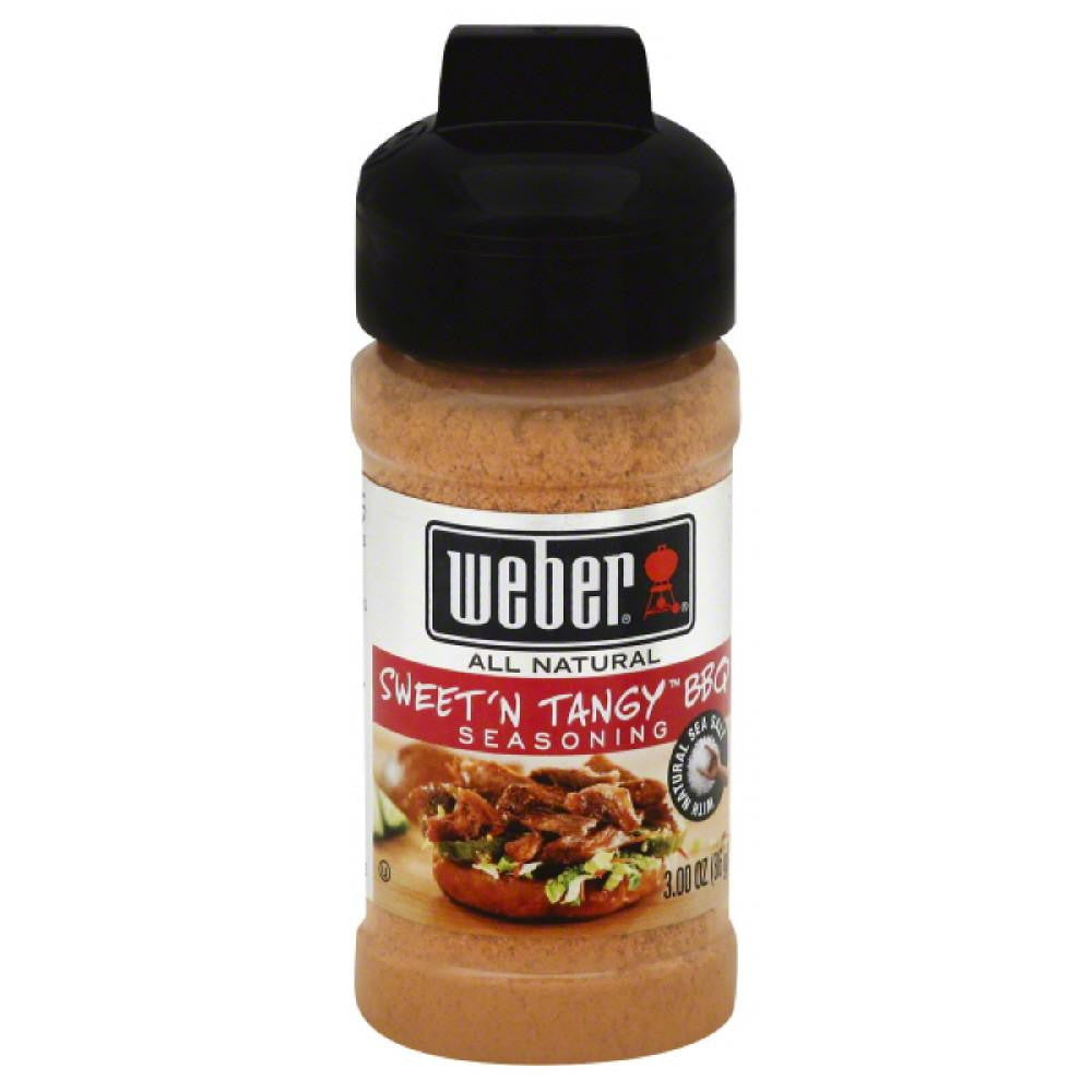 Weber Sweet'n Tangy Seasoning, 3 Oz (Pack of 6)