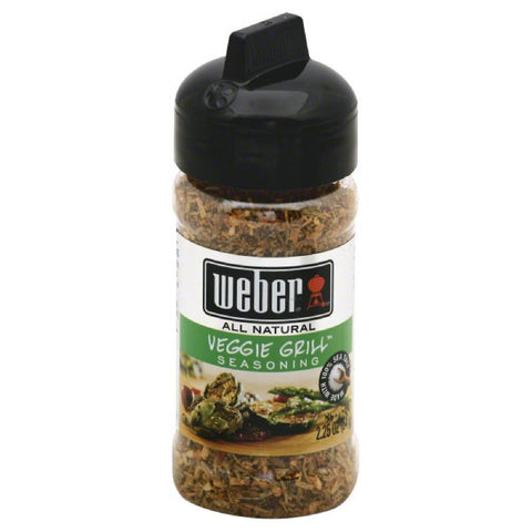 Weber Veggie Grill Seasoning, 2.25 Oz (Pack of 6)