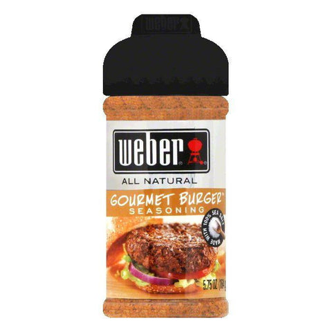 Weber Grill Seasoning Gourmet Burger, 6 OZ (Pack of 8)