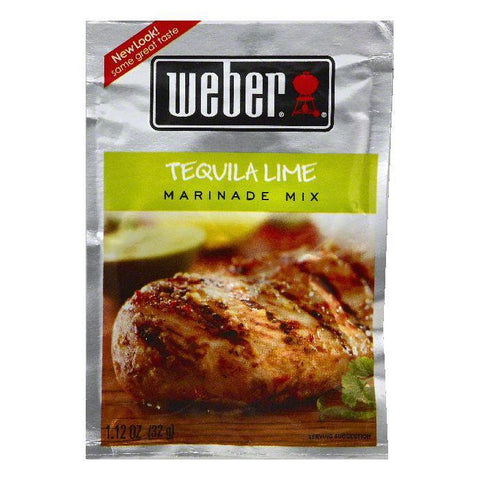 Weber Tequila Lime Marinade Mix, 1.12 OZ (Pack of 12)