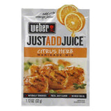 "Weber Grill ""Just Add Juice"" Citrus Herb Marinade, 1.12 OZ (Pack of 12)"