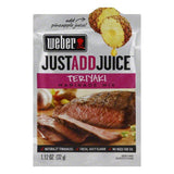 "Weber Grill ""Just Add Juice"" Teriyaki Marinade, 1.12 OZ (Pack of 12)"