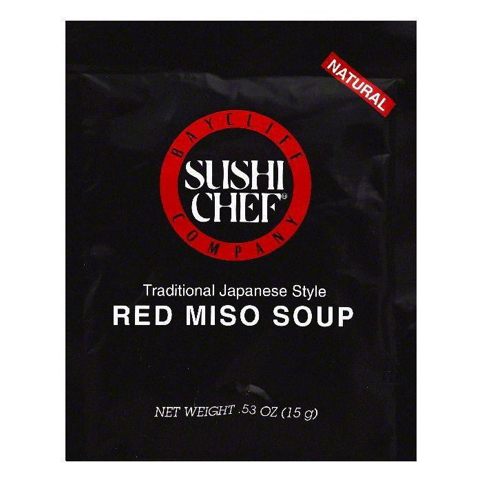 Sushi Chef Red Miso Soup, 0.53 OZ (Pack of 12)