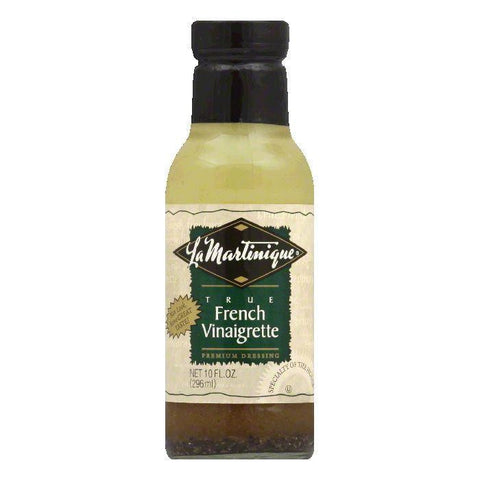 La Martinique Dressing True French Vinaigrette, 10 OZ (Pack of 6)