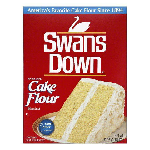 Swans Down Cake Flour, 32 Oz (Pack of 8)