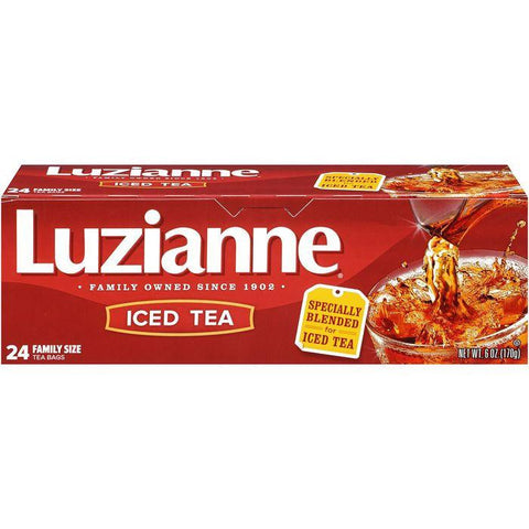 Luzianne Iced Tea 24 ct. Bag. (Pack of 12)