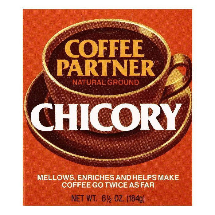 Coffee Partner Natural Ground Chicory, 6.5 OZ (Pack of 12)