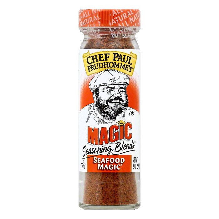 Chef Paul Prudhommes Seafood Magic Seasoning Blends, 2 OZ (Pack of 6)