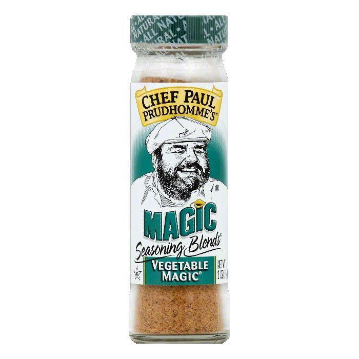 Chef Paul Prudhommes Vegetable Magic Seasoning Blends, 2 OZ (Pack of 6)