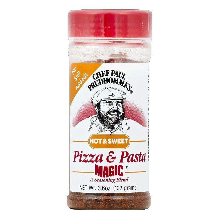 Chef Paul Prudhommes Hot & Sweet Pizza & Pasta Seasoning Blend, 3.6 OZ (Pack of 12)