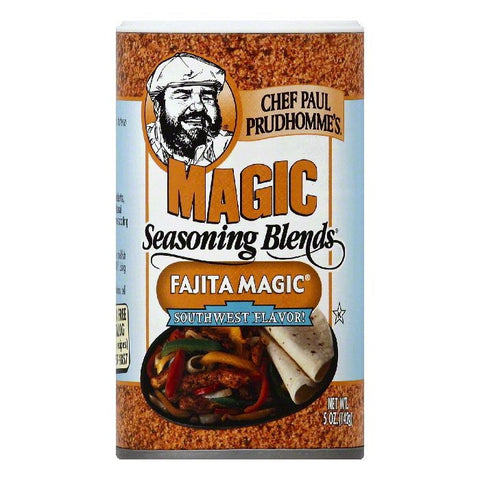 Chef Paul Prudhommes Southwest Flavor! Fajita Magic Seasoning Blends, 5 OZ (Pack of 6)