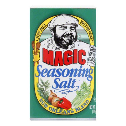 Chef Paul Magic Seasoning Salt, 7 OZ (Pack of 6)